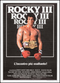 "Movie Posters:Sports, Rocky III (United Artists Europa, 1982). Italian 2 - Fogli (39.25"" X 55""). Sports.. ..."