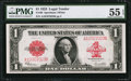Fr. 40 $1 1923 Legal Tender PMG About Uncirculated 55 EPQ