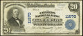 National Bank Notes:Pennsylvania, Ellwood City, PA - $20 1902 Plain Back Fr. 659 The Citizens NB Ch.# 11570. ...