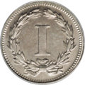 1868 1C Coronet Cent, Judd-608, Pollock-673, R.4, PR64 PCGS. This piece is misidentified by PCGS as Judd-605. It is Poll...
