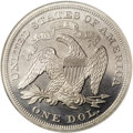 Patterns: , 1864 $1 Seated Liberty Dollar, Judd-398, Pollock-466, High R.7,PR66 NGC. The regular issue o...