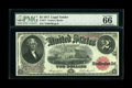 Large Size:Legal Tender Notes, Fr. 57 $2 1917 Legal Tender Star Note PMG Gem Uncirculated 66 EPQ.Large Size Star numbers have been added in the recently r...