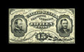 Fractional Currency:Third Issue, Fr. 1272SP 15¢ Third Issue Glued Pair New. This note consists of a printed signature 1272SP Narrow Margin Face that has been...