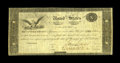 """Fr. TN-14a Hessler X83C $10 March 25, 1815 """"Act of February 24, 1815"""" Treasury Note Fine.This plate letter F n..."""