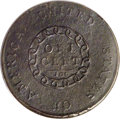 """Large Cents: , 1793 Chain 1C AMERICA--Corroded--NCS. AU Details. S-3, B-4, LowR.3. The popular """"Leaning R"""" variety, although others ident..."""