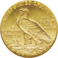 "Proof Indian Quarter Eagles: , 1910 $2 1/2 PR66 NGC. The delicate surfaces are a consistentlylovely greenish-gold throughout both sides of this satiny ""R..."
