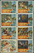 "Movie Posters:Adventure, Tarzan's Magic Fountain (RKO, 1949). Lobby Card Set of 8 (11"" X14""). Action Adventure. Starring Lex Barker, Brenda Joyce, A...(Total: 8 Items)"