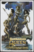 "Movie Posters:Adventure, Barbarian Queen (Cinema Group, 1985). One Sheet (27"" X 41"").Fantasy Adventure. Starring Katt Shea, Lana Clarkson, Dawn Dunl..."