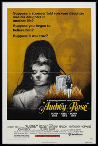 "Audrey Rose (United Artists, 1977). One Sheet (27"" X 41""). Horror. Starring Marsha Mason, Anthony Hopkins, Joh..."