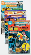 Modern Age (1980-Present):Superhero, The Brave and the Bold #166-200 Group (DC, 1980-83) Condition:Average VF.... (Total: 35 Comic Books)