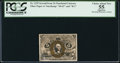 Fractional Currency:Second Issue, Fr. 1235 5¢ Second Issue PCGS Apparent Choice About New 55.. ...