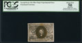 Fractional Currency:Second Issue, 10¢ Second Issue Experimental Unpunched and Unstamped PCGS Apparent About New 50.. ...