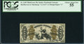 Fractional Currency:Third Issue, Fr. 1349 50¢ Third Issue Justice PCGS Choice About New 55.. ...