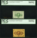 Fractional Currency:First Issue, Fr. 1241 10¢ First Issue PCGS Choice About New 58PPQ. Fr. 1228 5¢First Issue PCGS Choice About New 55PPQ.. ... (Total: 2 notes)