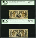 Fractional Currency:Third Issue, Fr. 1326 50¢ Third Issue Spinner PCGS Choice New 63PPQ. Fr. 1328 50¢ Third Issue Spinner PCGS Choice About New 58PPQ.. ... (Total: 2 notes)