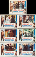 "Movie Posters:Film Noir, Scandal Sheet (Columbia, 1952). Lobby Cards (7) (11"" X 14""). Film Noir.. ... (Total: 7 Items)"