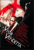 "Movie Posters:Action, V for Vendetta (Warner Brothers, 2005). One Sheet (27"" X 40"") SSAdvance. Action.. ..."