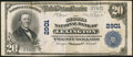 National Bank Notes:Kentucky, Lexington, KY - $20 1902 Plain Back Fr. 650 The Second NB Ch. #2901. ...