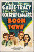 "Movie Posters:Drama, Boom Town (MGM, 1940). One Sheet (27"" X 41"") Style C. Drama.. ..."