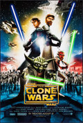 """Movie Posters:Animation, Star Wars: The Clone Wars & Other Lot (Warner Brothers, 2008). One Sheet (27"""" X 40"""") DS Advance & Commercial Poster (24"""" X 3... (Total: 2 Items)"""