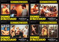 "Movie Posters:Documentary, Pumping Iron (DMV, 1986). First Release Italian Photobusta Set of 4 (19"" X 26""). Documentary.. ... (Total: 4 Items)"