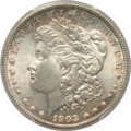 Morgan Dollars: , 1903 $1 MS66+ PCGS. CAC. PCGS Population: (1029/96 and 76/3+). NGCCensus: (491/104 and 18/1+). CDN: $525 Whsle. Bid for pr...