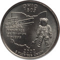 Statehood Quarters, 2002-D 25C Ohio MS69 NGC. NGC Census: (1/0). . From The Mile High Collection....