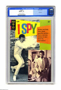 Silver Age (1956-1969):Adventure, I Spy #5 (Gold Key, 1968) CGC NM/MT 9.8 Off-white to white pages. If you think Robert Culp's all-white tennis outfit looks s...