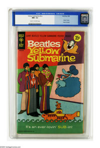 Yellow Submarine #nn (Gold Key, 1969) CGC NM- 9.2 Cream to off-white pages. The Beatles were so popular that a full-leng...