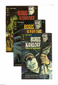 "Silver Age (1956-1969):Horror, Boris Karloff Tales of Mystery 2-Box Lot (Gold Key, 1965-78)Condition: Average VF. Originally spun off from the TV show ""Th..."