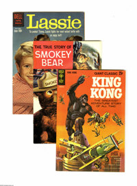 Dell/Gold Key Miscellaneous Comics 4-Box Lot (Dell/Gold Key, 1956-78) Condition: Average VF. The two full long and two f...