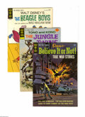 Bronze Age (1970-1979):Science Fiction, Gold Key Bronze Age Sci-Fi, Horror, and Adventure 4-Box Lot (Gold Key, 1959-85) Condition: Average VF. This group of four fu...
