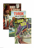 Bronze Age (1970-1979):Science Fiction, Gold Key Bronze Age Science Fiction and Horror 3-Box Lot (Gold Key, 1969-79) Condition: Average VF. These three full short b... (Total: 3)