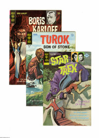 Gold Key Bronze Age Science Fiction and Horror 3-Box Lot (Gold Key, 1969-79) Condition: Average VF. These three full sho...