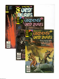 Grimm's Ghost Stories and Others Box Lot (Gold Key, 1956-79) Condition: Average VF. A very Grimm lot, indeed, featuring...