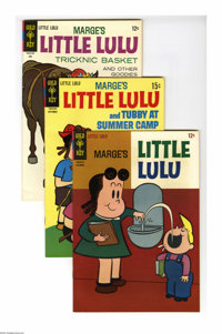 Little Lulu Box Lot (Gold Key, 1965-78) Condition: Average VF. The two medium-sized boxes featured here include Little L...