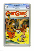 Golden Age (1938-1955):Funny Animal, Our Gang #8 File Copy (Dell, 1943) CGC NM 9.4 Cream to off-whitepages. Walt Kelly illustrations grace the beautiful front a...