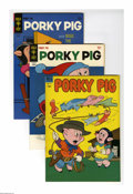 Bronze Age (1970-1979):Cartoon Character, Porky Pig and Others 4-Box Lot (Dell/Gold Key, 1965-84) Condition:VF. A set of four full short boxes that include multiple ...
