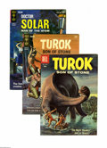 Silver Age (1956-1969):Adventure, Turok and Others 4-Box Lot (Dell/Gold Key, 1959-79) Condition: Average VF. More Turoks than you can shake a brontosaurus...