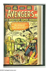 The Avengers #1-10 Plus Bound Volume (Marvel, 1963-75). A chronicle of the early adventures of Marvel's mightiest super...