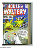 "Silver Age (1956-1969):Science Fiction, House of Mystery #81-100 Bound Volume (DC, 1958-60). Reading the""strange creature"" stories in this great volume is like goi..."