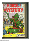 Silver Age (1956-1969):Science Fiction, House of Mystery #101-120 Bound Volume (DC, 1960-62). Weird monsters from outer space dominate this terrific privately bound...