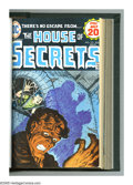 Bronze Age (1970-1979):Horror, House of Secrets #121-140 Bound Volume (DC, 1974-76). Horror is thename of the game with the comics in this well-made bound...