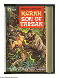 Silver Age (1956-1969):Adventure, Korak, Son of Tarzan #1-20 Bound Volume (Gold Key, 1964-67). Trimmed and bound copies. The previous owner's name is embossed...