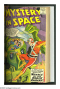 Silver Age (1956-1969):Science Fiction, Mystery In Space #51-60 Bound Volume (DC, 1959-60). The debut inthis series of Adam Strange (issue #53) highlights this run...
