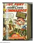 Silver Age (1956-1969):War, Sgt. Fury and His Howling Commandos #1-25 Bound Volume (Marvel, 1963-65). The debut of Sgt. Nick Fury (destined to become Co...