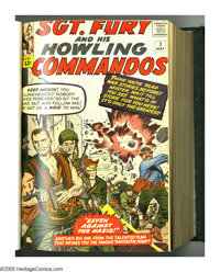 Sgt. Fury and His Howling Commandos #1-25 Bound Volume (Marvel, 1963-65). The debut of Sgt. Nick Fury (destined to becom...