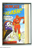 Silver Age (1956-1969):Superhero, Showcase #5-24 Bound Volume (DC, 1956-60). This stunning collectionallows you a peek at the early, formative days of DC's S...