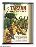 """Silver Age (1956-1969):Adventure, Tarzan of the Apes #152-170 Bound Volume (Gold Key, 1965-67). While the embossed spine of this hardcover volume reads """"#151-..."""