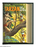 Silver Age (1956-1969):Adventure, Tarzan of the Apes #191-206 Plus Bound Volume (Gold Key, 1970-72). Trimmed and bound copies of issues #191-206, plus ACG's